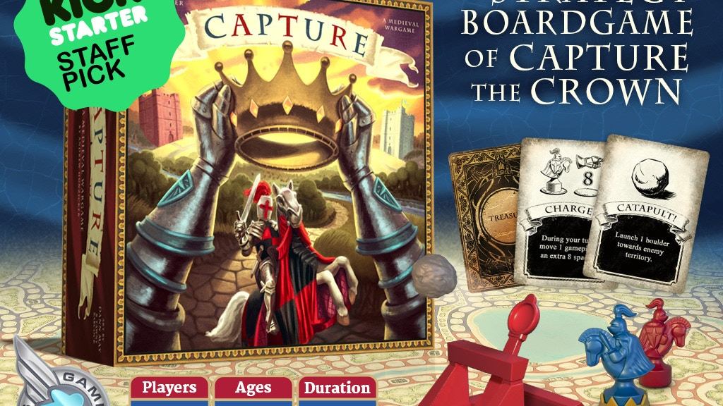 Capture: A Strategy Board Game project video thumbnail