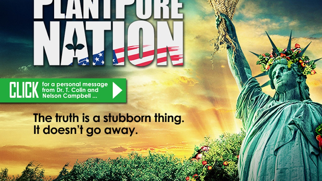 PlantPure Nation, a Documentary with Dr. T. Colin Campbell project video thumbnail