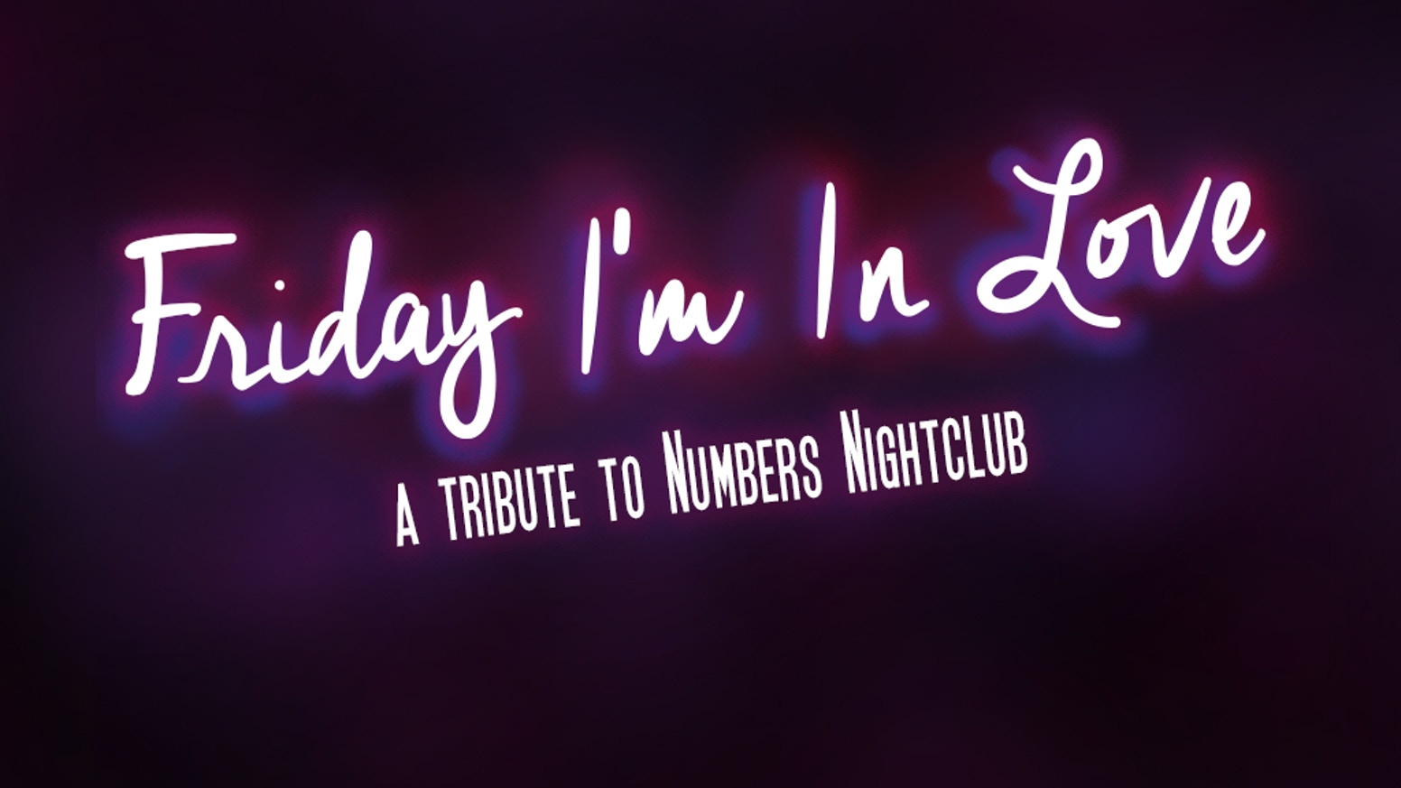 345411cb20e FRIDAY I M IN LOVE is a documentary about the legendary Numbers Nightclub in  Houston