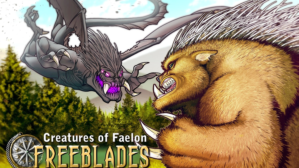 Freeblades: Creatures of Faelon project video thumbnail