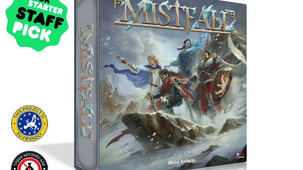 Mistfall - Legendary adventures for 1-4 fearless heroes project video thumbnail
