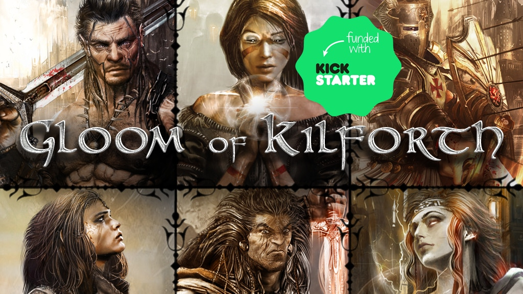 Gloom of Kilforth: A Fantasy Quest Game, 1-4 heroes, 1-3 hrs project video thumbnail