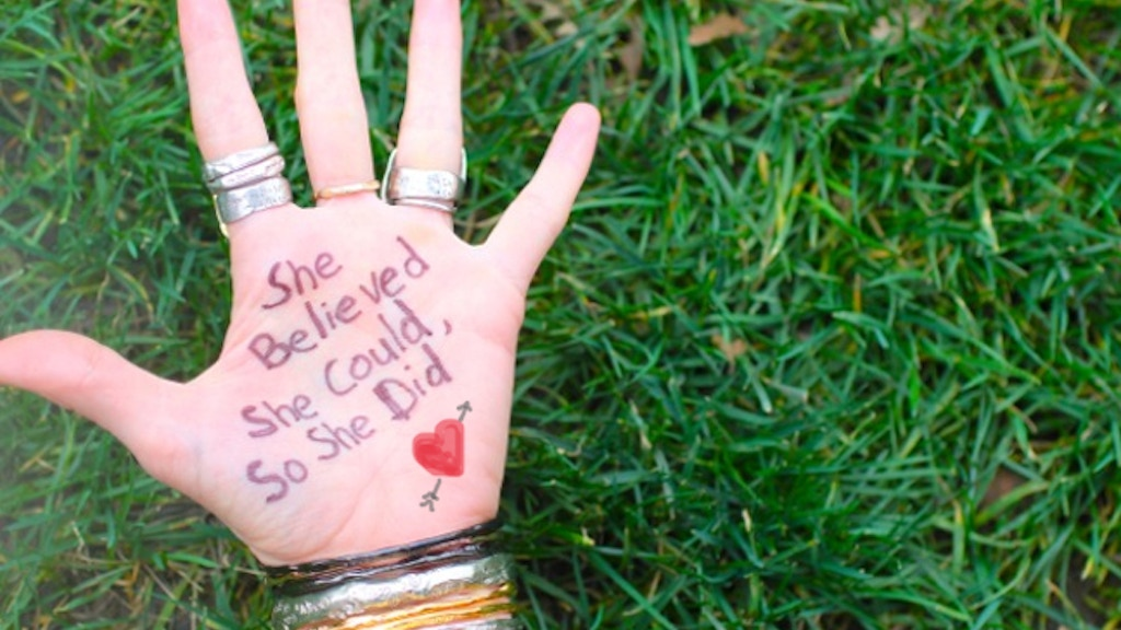 'She Believed She Could, So She Did' Inspirational Jewelry project video thumbnail