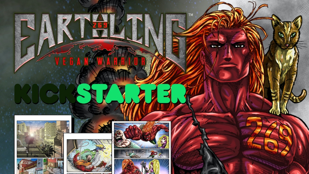 Earthling: Vegan Warrior #1 project video thumbnail