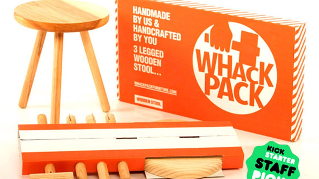 Whackpack Furniture. Handmade by us, handcrafted by you! project video thumbnail