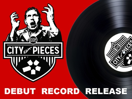 City Of Pieces Debut Vinyl Record Release By David Fox