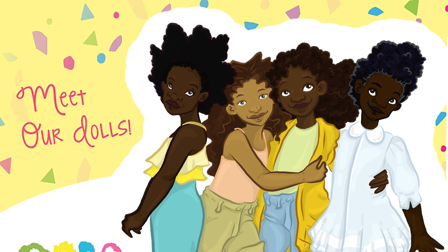 Healthy Roots, Natural Dolls for Natural Girls by Yelitsa Jean ...