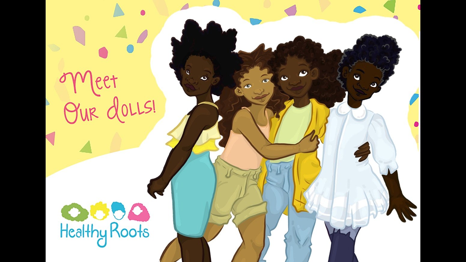 Co color by number girls - Healthy Roots Is A Toy Company That Teaches Natural Hair Care To Young Girls Of Color