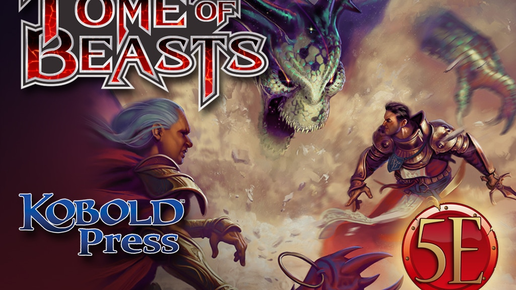 Tome of Beasts: 400+ New Monsters for 5th Edition project video thumbnail
