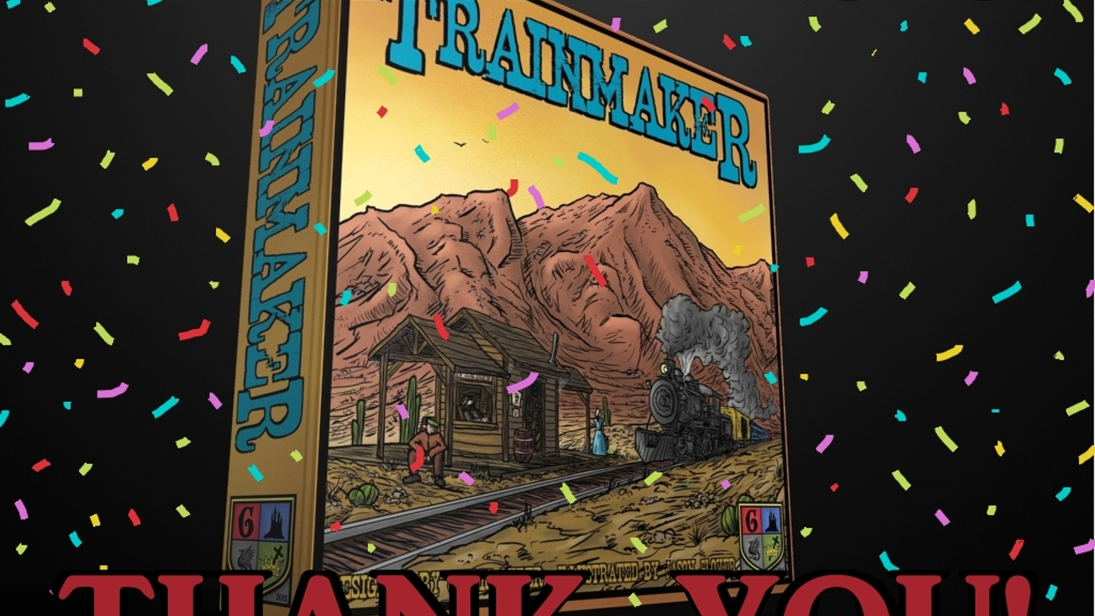 An Old West game of rolling dice, building trains, collecting stations, and using special abilities to create your railroad!