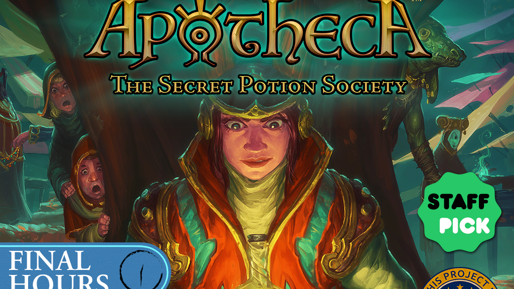 Apotheca: The Secret Potion Society project video thumbnail