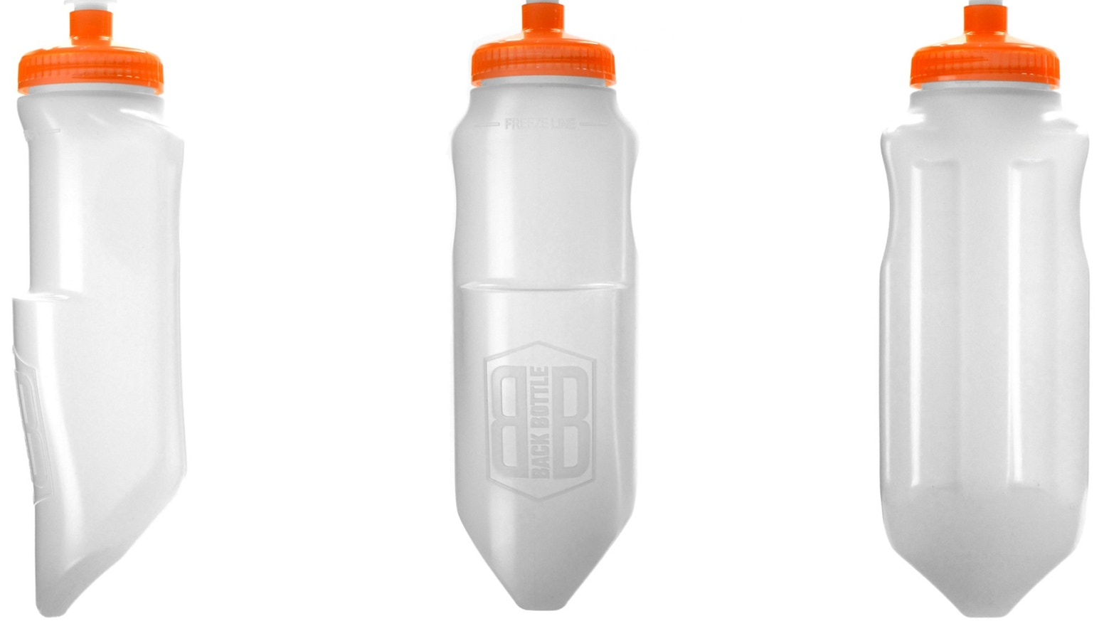 The BackBottle provides cyclists and triathletes an easy answer for extra, accessible hydration when you GO ALL OUT!