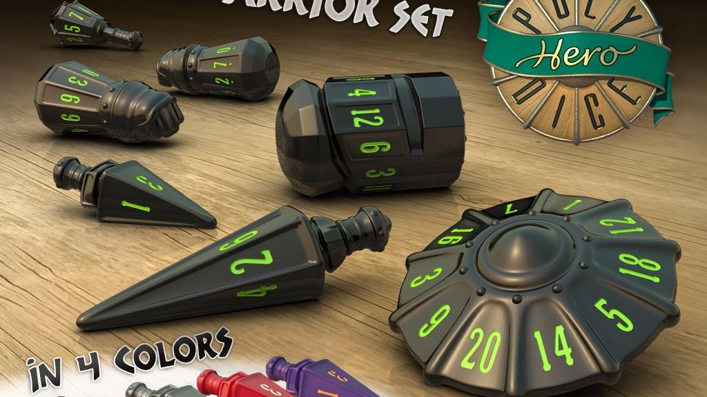 PolyHero Dice - Warrior Set project video thumbnail