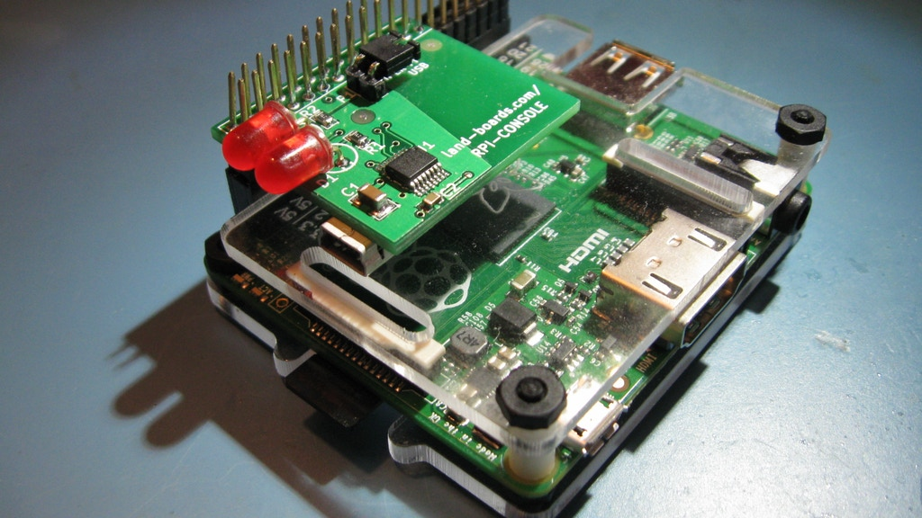Raspberry Pi USB Console project video thumbnail