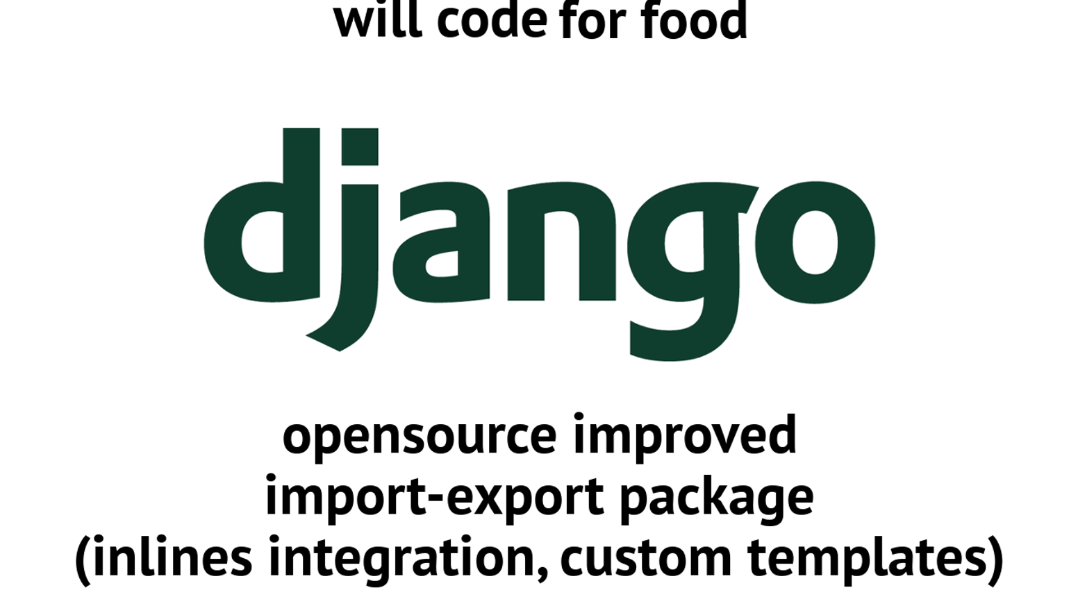 Django opensource improved import-export package by mtr