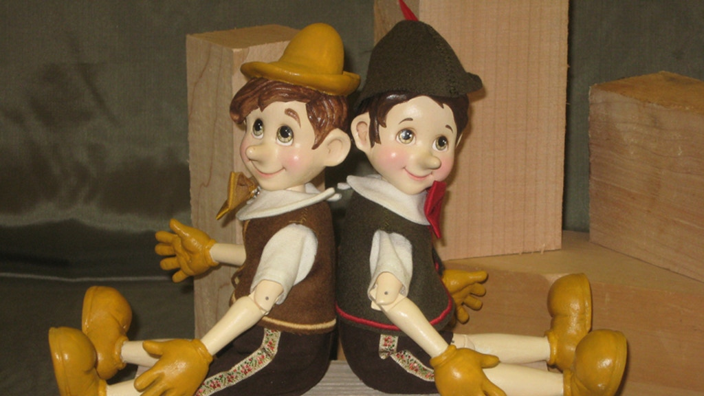 """The Pinocchio Project - """"Wood becomes Art"""" project video thumbnail"""
