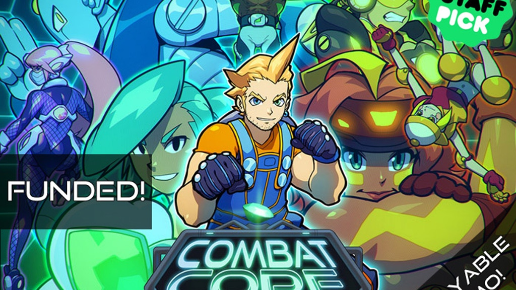 Combat Core: High-Powered 4-Player Arena Fighter! project video thumbnail