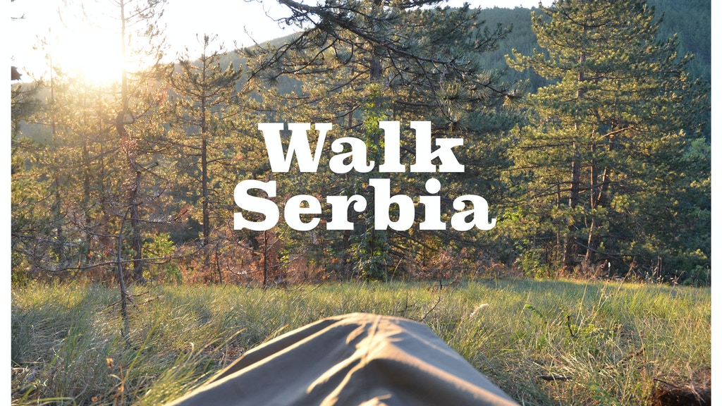 Walk Serbia: 900km, One Misunderstood Country & Two Books project video thumbnail