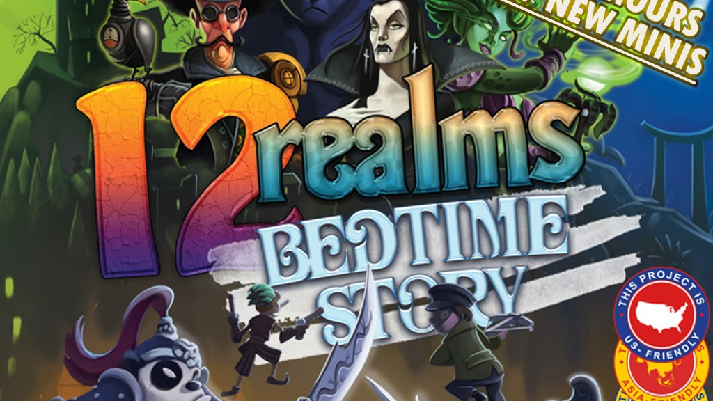 12 Realms: Bedtime Story project video thumbnail