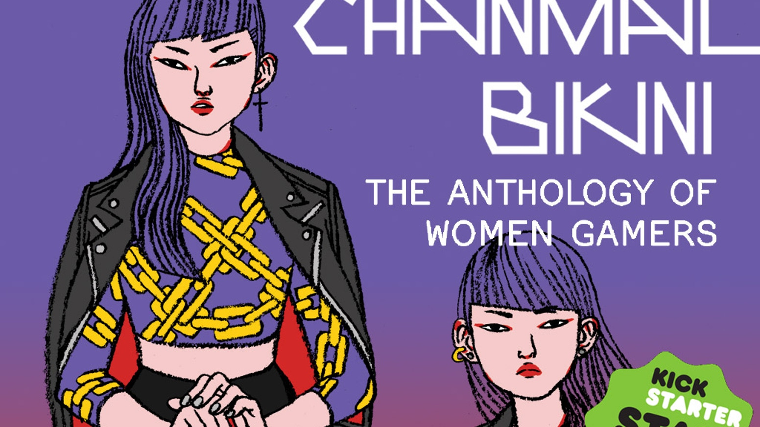 CHAINMAIL BIKINI is a comics anthology celebrating female gamers! Video games, RPGs, LARPing, and more.