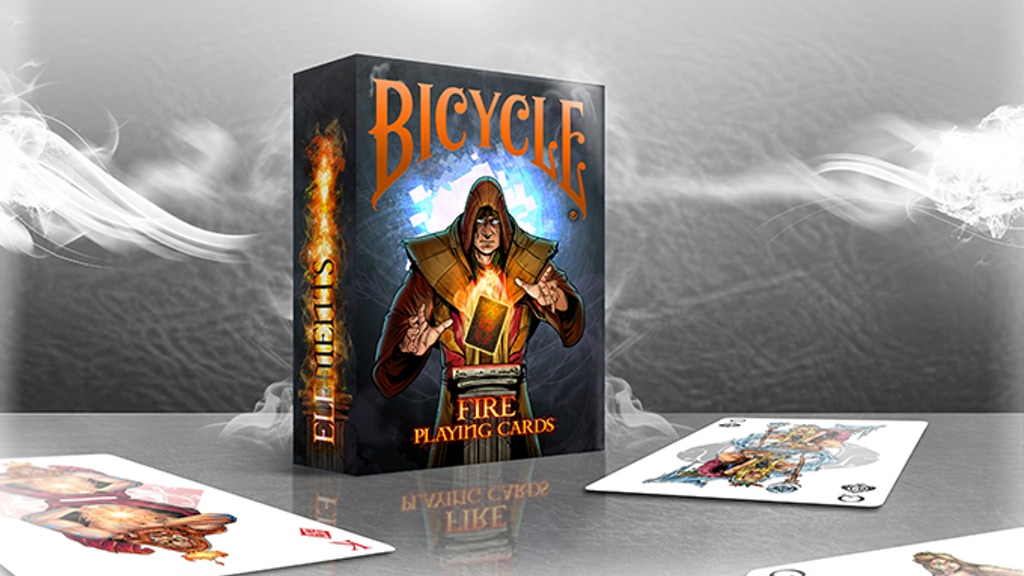 Project image for Earth's Elements in Bicycle® Playing Cards- Fire (Canceled)