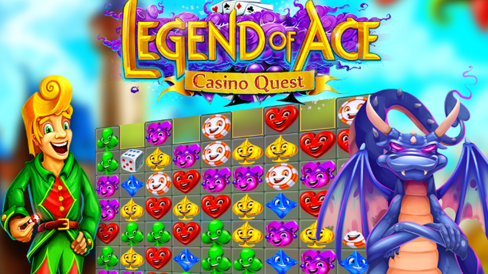 The first-ever social game...made socially. Save the Queen in this match-3 puzzle meets casino game set in medieval times.
