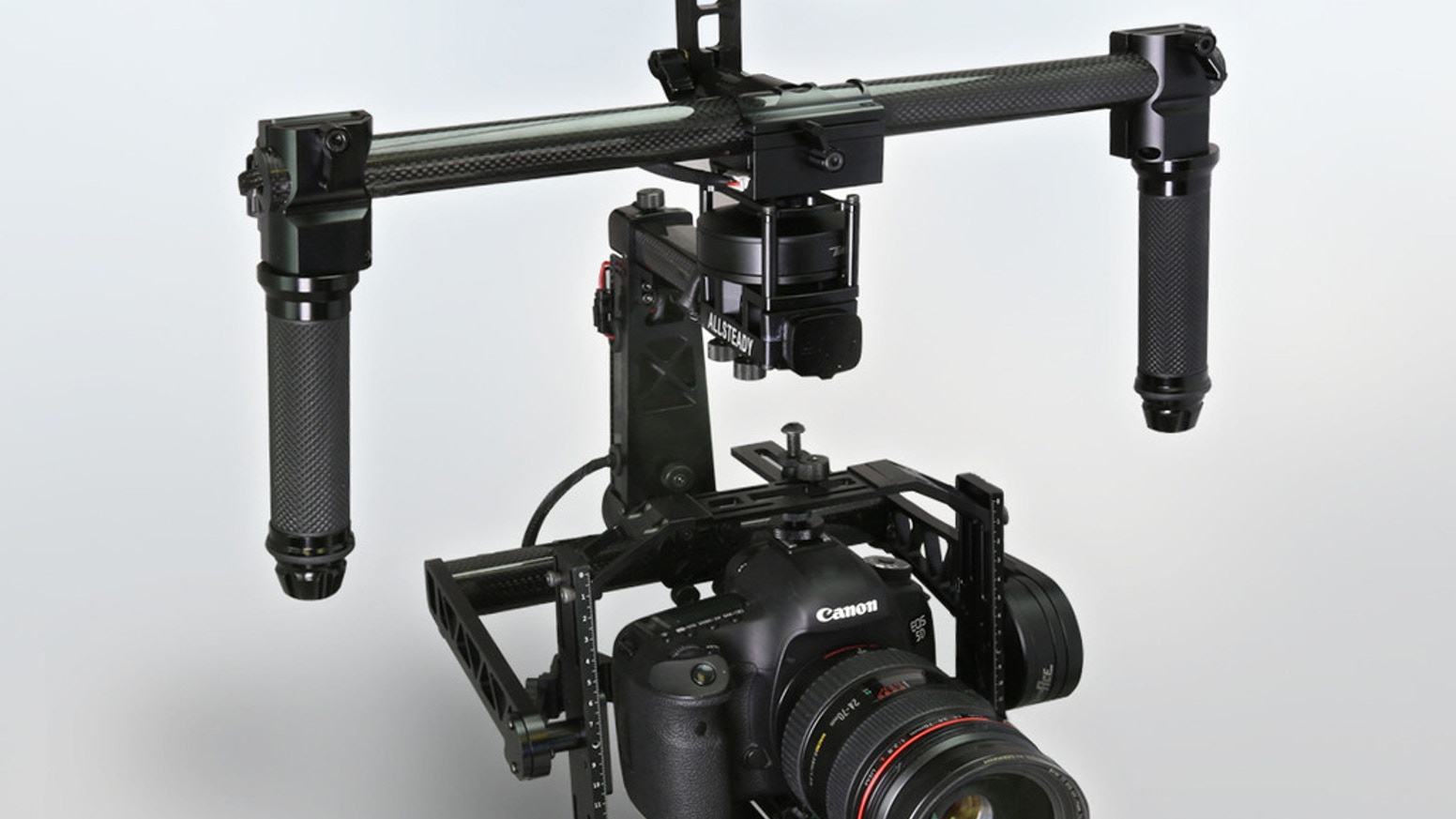 The AllSteady-6Pro combines unprecedented performance for a wide range of cameras with follow focus options at ½ the weight of Ronin.
