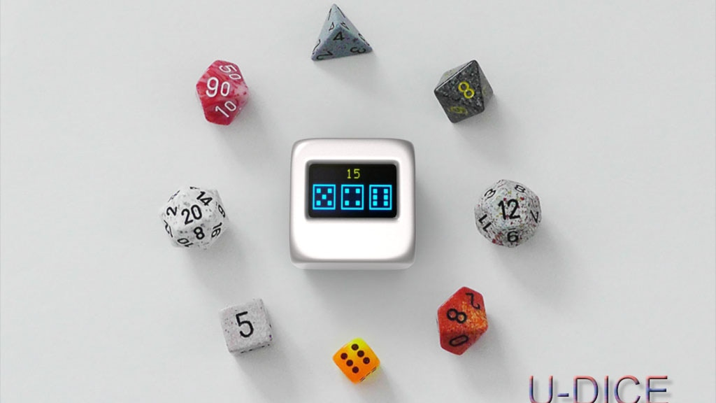 Project image for U-DICE : The universal electronic dice for most dice games