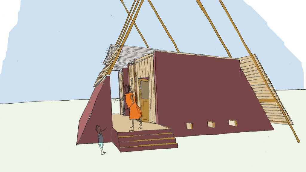 Handmade House Ghana- cast earth architecture workshop project video thumbnail