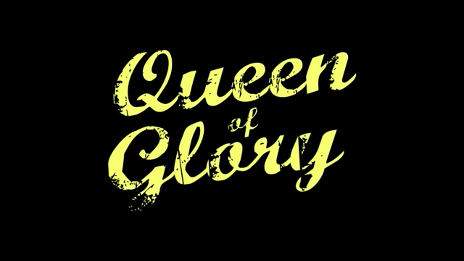 Queen of Glory is the female-directed dark comedy of a maladjusted PhD student who becomes sole proprietor of a Christian bookstore.