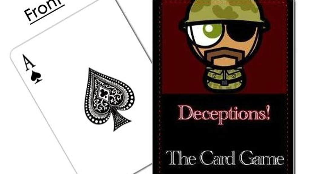 Project image for Deceptions! The Card Game