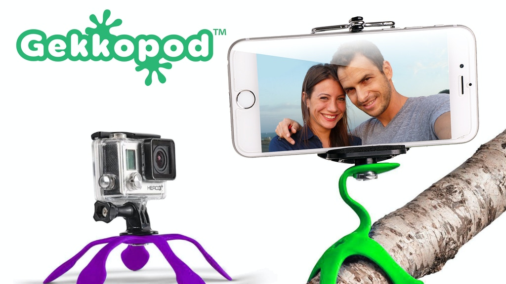 GEKKOPOD - The World's Most Flexible Mount Project-Video-Thumbnail
