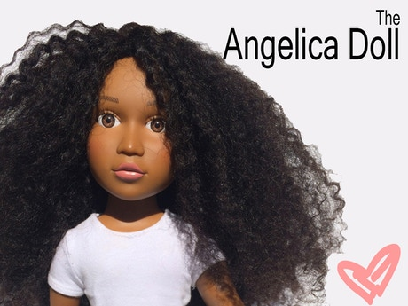 The Angelica Doll: A natural hair doll for young girls by