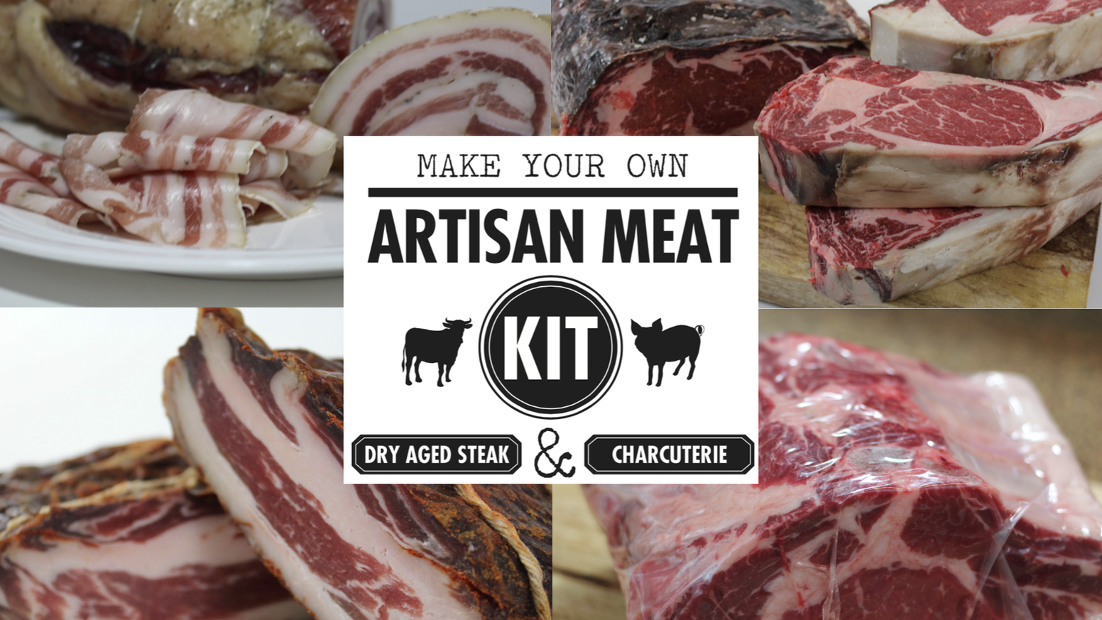 With UMAi Dry® Artisan Meat Kits, you can craft authentic dry aged steak & charcuterie in your home fridge. Help us bring these to you!