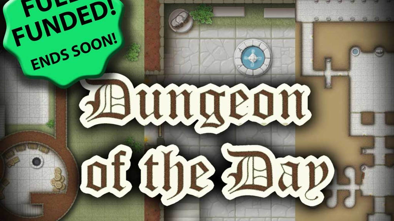 One tabletop RPG dungeon map every day – seven days a week! Detailed battlemaps will be included. We start at 101 maps in 101 days!