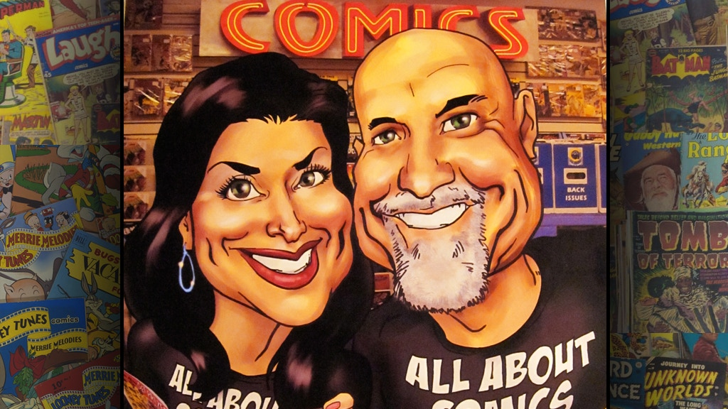 Mom & Pop Move Their Comic Shop project video thumbnail