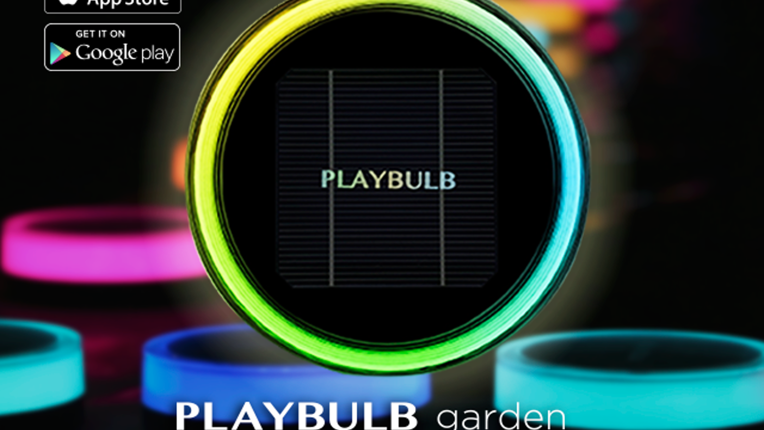 PLAYBULB garden lets you add shining colors and special lighting effects to your home garden. Garden lighting show is one tap away.