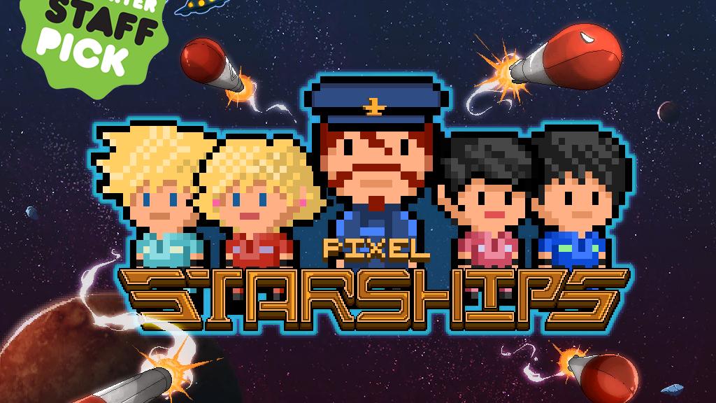 Pixel Starships: 8Bit Starship Management Strategy MMO RPG project video thumbnail