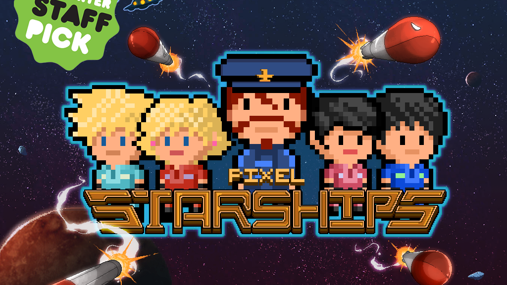 Pixel Starships: 8Bit Starship Management Strategy MMO RPG project video thumbnail