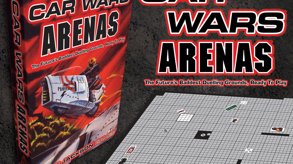 Car Wars Classic Arenas project video thumbnail