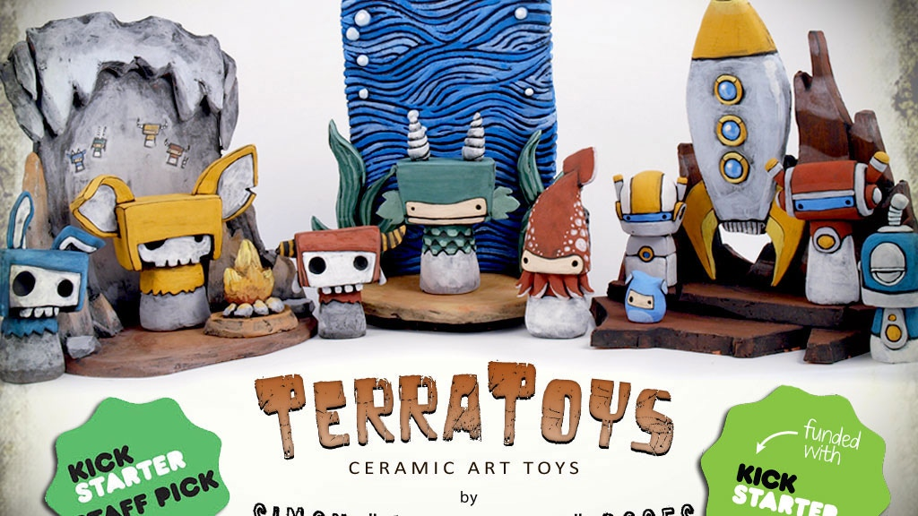 "TerraToys: Ceramic Art Toys by ""Mudmonkey"" Simon Boses project video thumbnail"