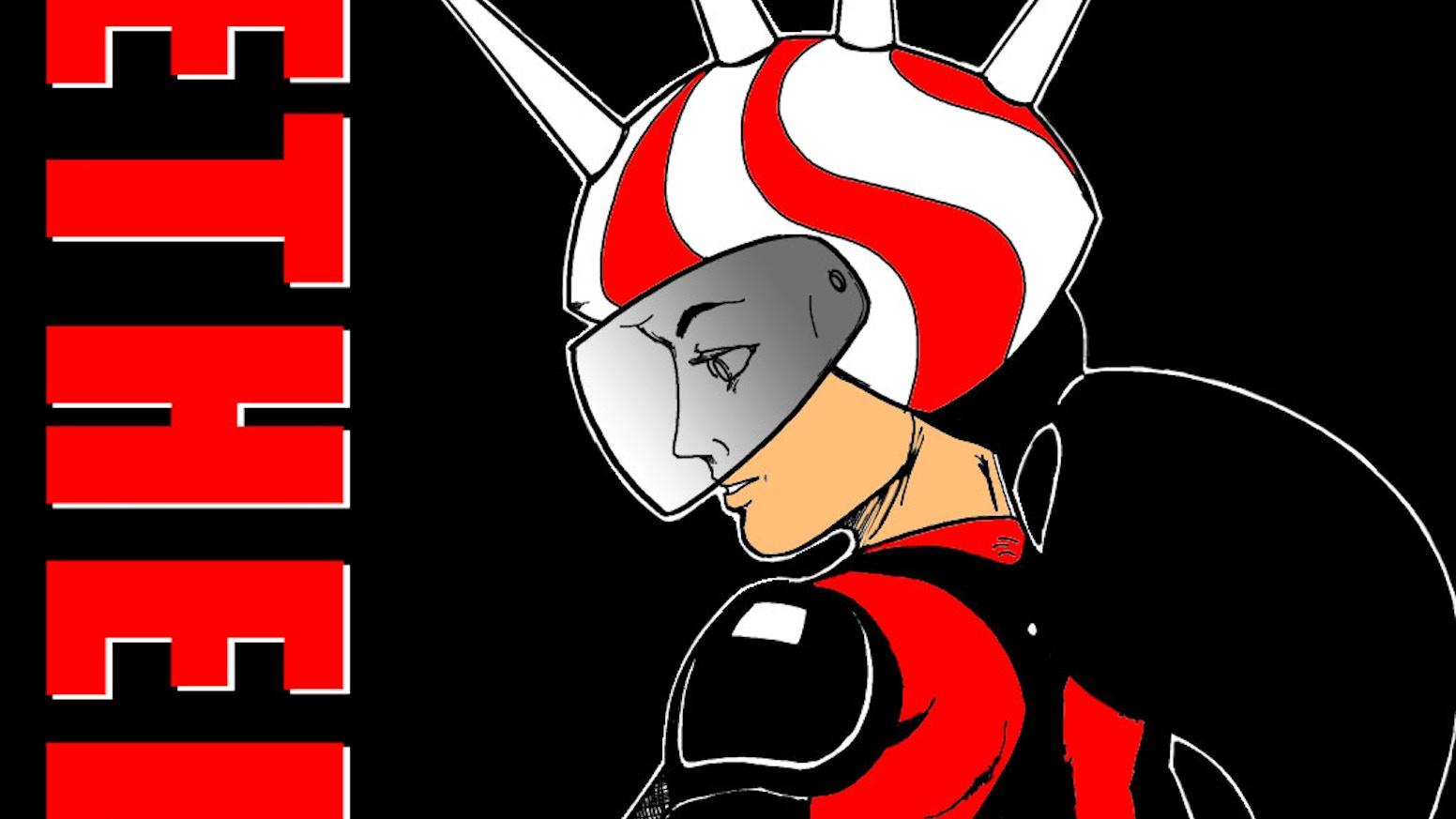 Ethel the Cyborg Ninja: Book 1 by Classic Game Room — Kickstarter