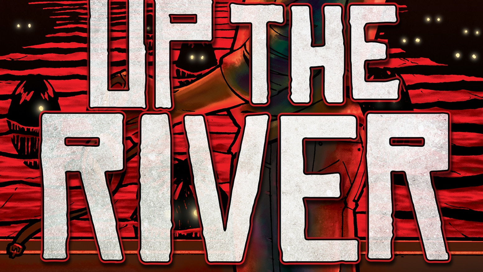 Fully funded & 2 stretch goals reached on the Up the River #1 comic book campaign! THANK YOU ALL!