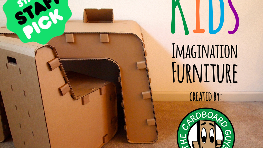 Kids Imagination Furniture by The Cardboard Guys project video thumbnail