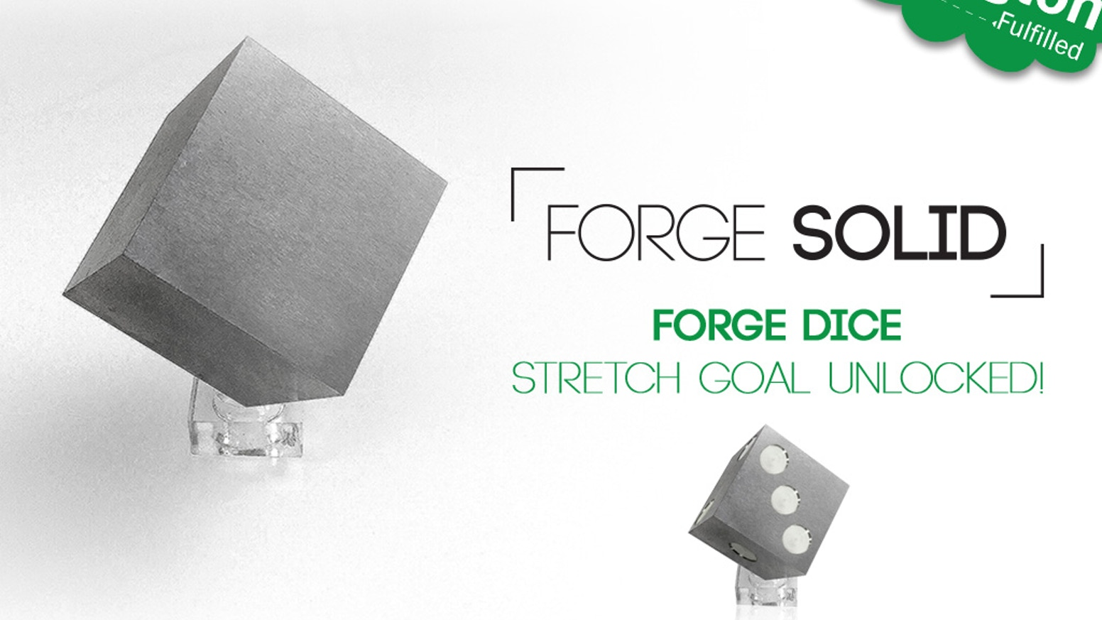 Introducing the KILO CUBE by Forge Solid.  Geometrically perfect, it's crafted from 1 kg of aerospace grade Tungsten (W).