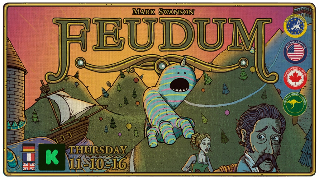 Feudum: A nuanced game of hand & resource management project video thumbnail