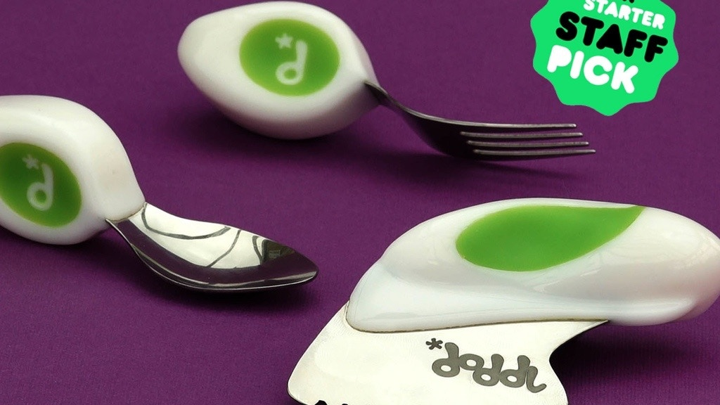 Doddl: The Future of Children's Cutlery. project video thumbnail