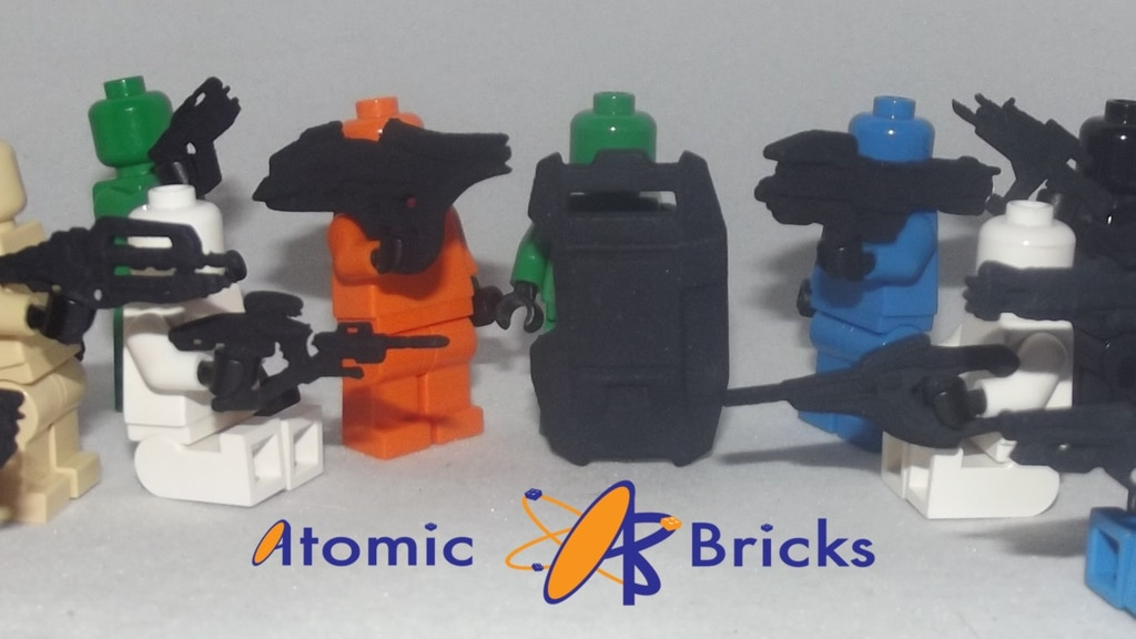 Project image for Lego Compatible Parts Mold (Canceled)