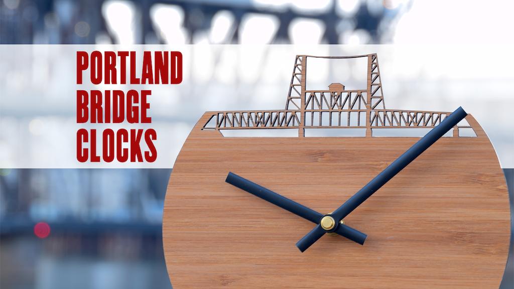 The Portland Bridge Clock Series project video thumbnail
