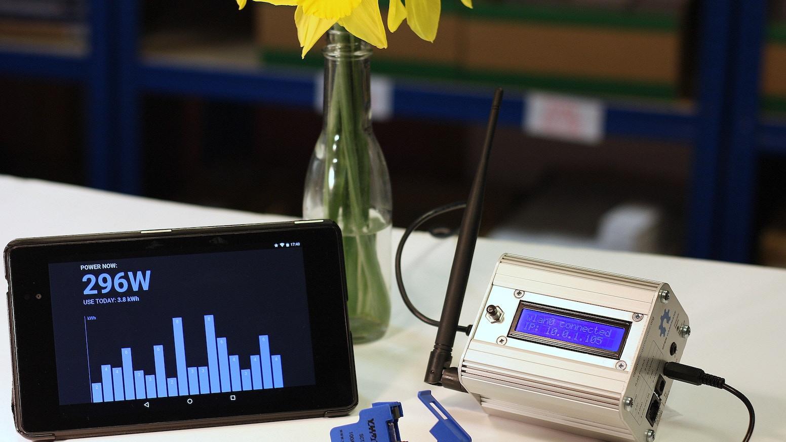 Emonpi open hardware raspberry pi based energy monitor by
